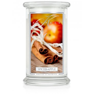 Duża świeca Spiced Apple Kringle Candle