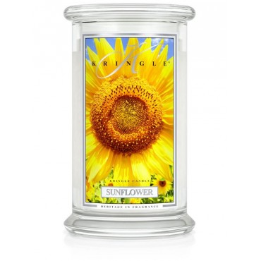 Duża świeca Sunflower Kringle Candle