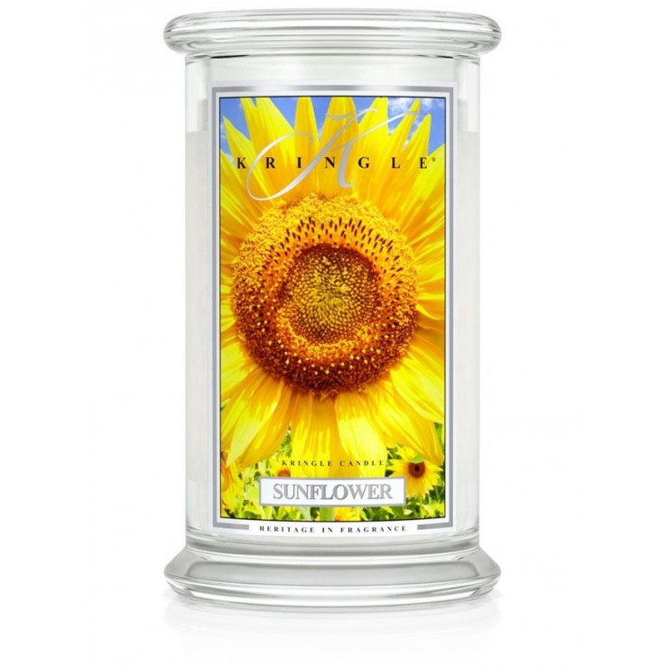 Duża świeca Sunflower Kringle Candle