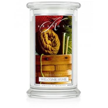 Duża świeca Welcome Home Kringle Candle