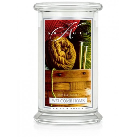 Duża świeca Welcome Home Kringle Candle