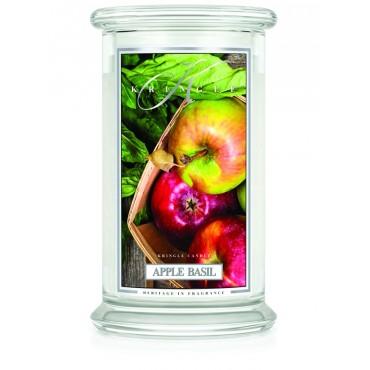 Duża świeca Apple Basil Kringle Candle