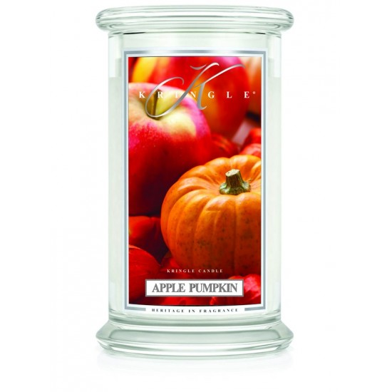 Duża świeca Apple Pumpkin Kringle Candle