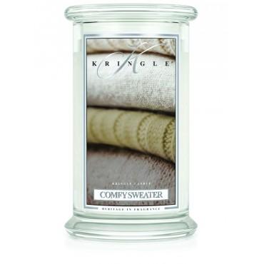 Duża świeca Comfy Sweater Kringle Candle