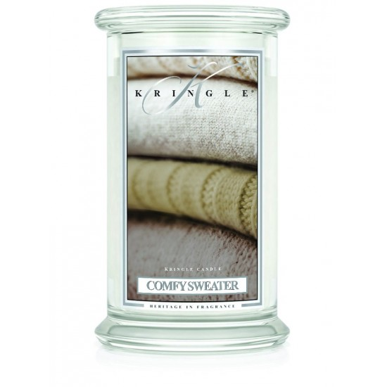 Duża świeca Comfy Sweater Kringle Candle