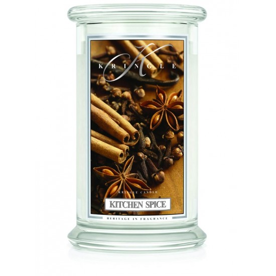 Duża świeca Kitchen Spice Kringle Candle