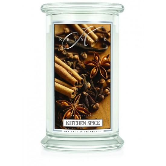 Duża świeca Kitchen Spice Kringle Candle