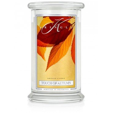 Duża świeca Touch of Autumn Kringle Candle