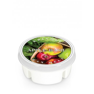 Wosk Apple Basil Kringle Candle