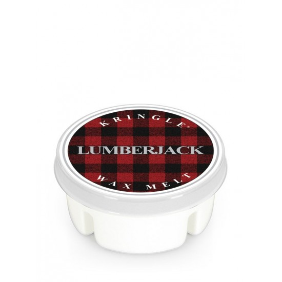 Wosk Lumberjack Kringle Candle