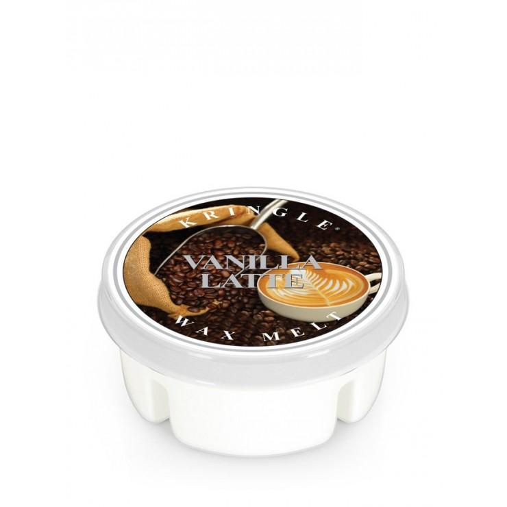 Wosk Vanilla Latte Kringle Candle
