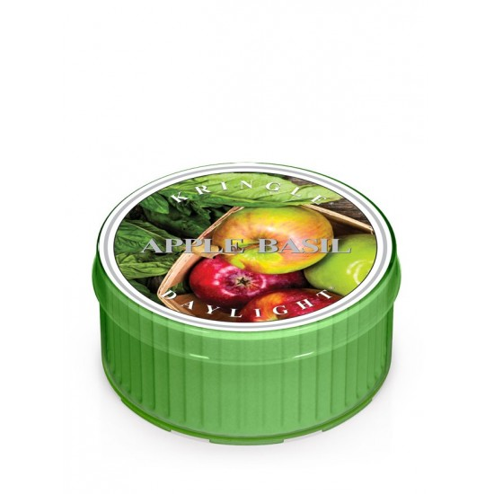Daylight Apple Basil Kringle Candle