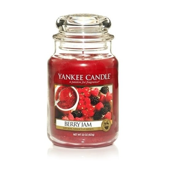 Duża świeca Berry Jam Yankee Candle