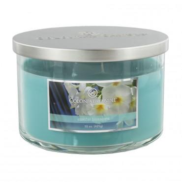 Średnia świeca Coastal Blossoms Colonial Candle