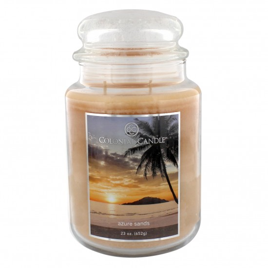 Duża świeca Azure Sands Colonial Candle