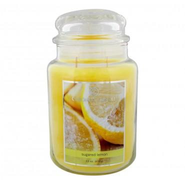 Duża świeca Sugared Lem Colonial Candle