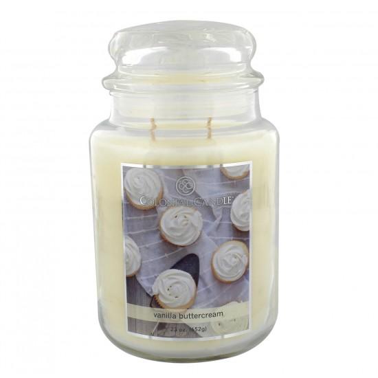 Duża świeca Vanilla Colonial Candle