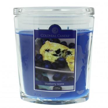 Duża świeca Blueberry Scone Colonial Candle