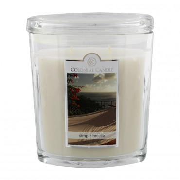 Duża świeca Simple Breeze Colonial Candle