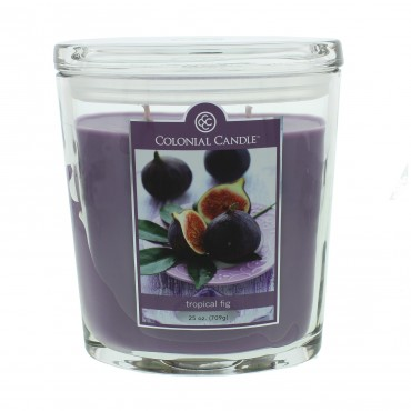 Duża świeca Tropical Fig Colonial Candle