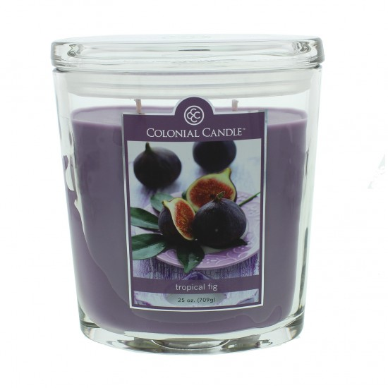 Duża świeca Tropical Fig Colonial Candle