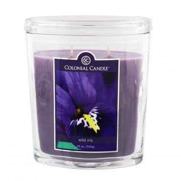 Duża świeca Wild Iris Colonial Candle