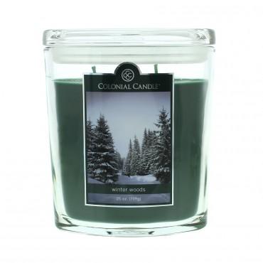 Duża świeca Winter Woods Colonial Candle