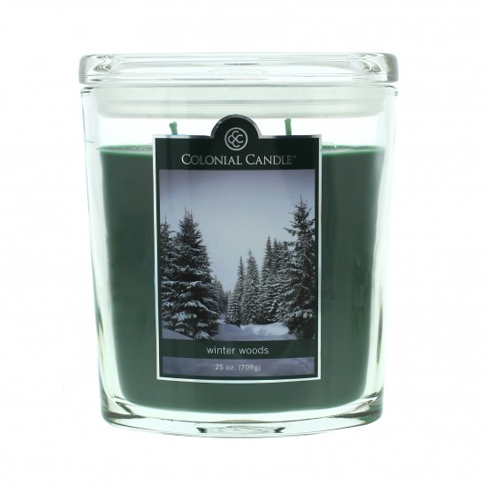 Duża świeca Winter Woods Colonial Candle