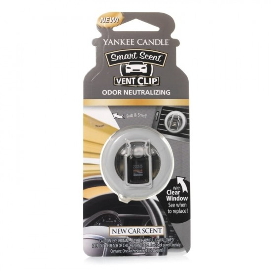 Car Vent Clip Clean Cotton Yankee Candle