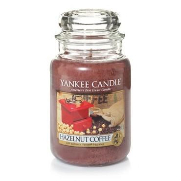 Duża świeca Hazelnut Coffee Yankee Candle