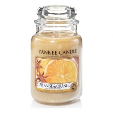 Duża świeca Star Anise & Orange Yankee Candle