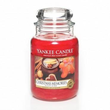 Duża świeca Christmas Memories Yankee Candle