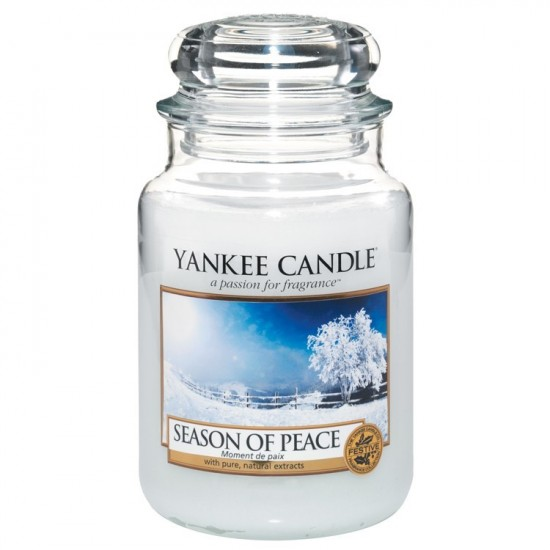 Duża świeca Season of Peace Yankee Candle