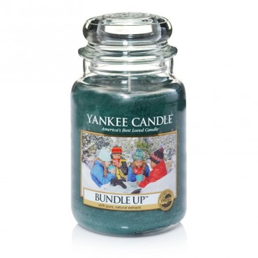Duża świeca Bundle Up Yankee Candle