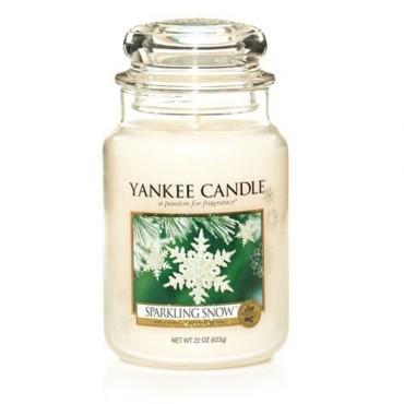 Duża świeca Sparkling Snow Yankee Candle