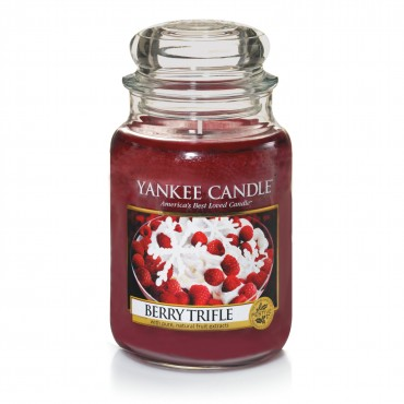 Duża świeca Berry Trifle Yankee Candle