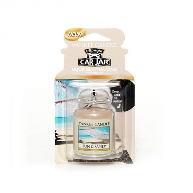 Car jar ultimate Sun & Sand Yankee Candle