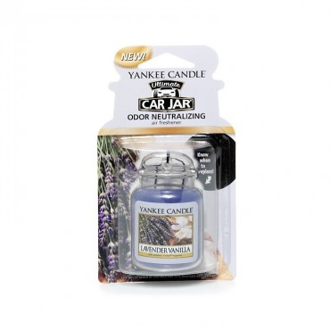 Car jar ultimate Lavender Vanilla Yankee Candle