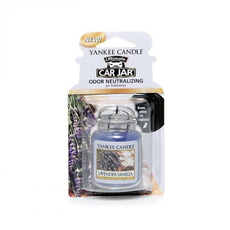 Car jar ultimate Lavender Vanilla Yankee Candle