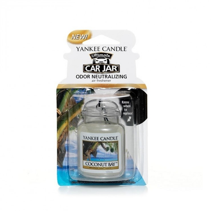 Car jar ultimate Cocout Bay Yankee Candle