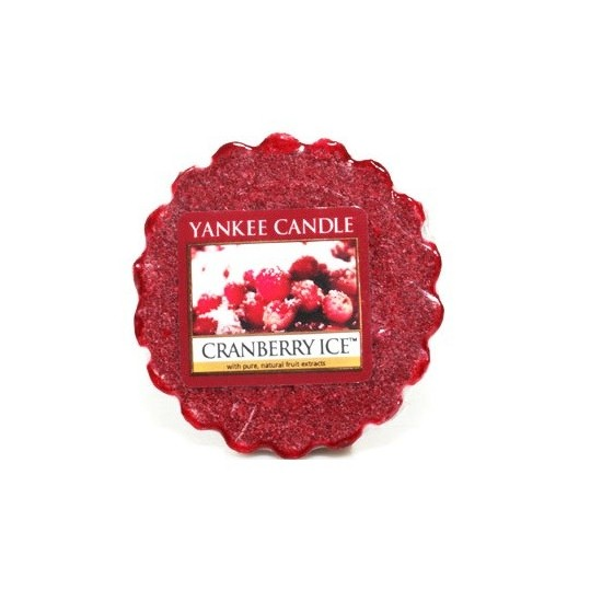 Wosk Cranberry Ice Yankee Candle