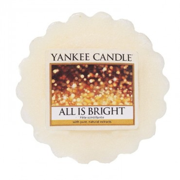 Wosk zapachowy All Is Bright Yankee Candle