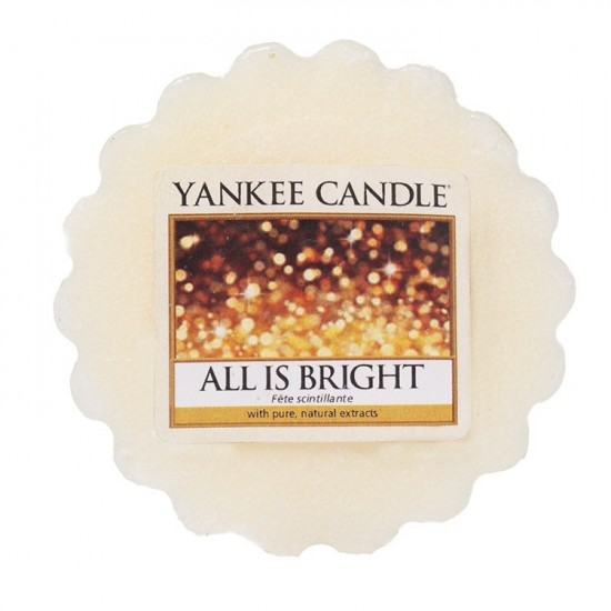Wosk All Is Bright Yankee Candle