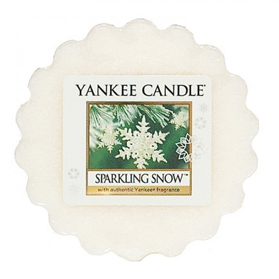 Wosk Sparkling Snow Yankee Candle