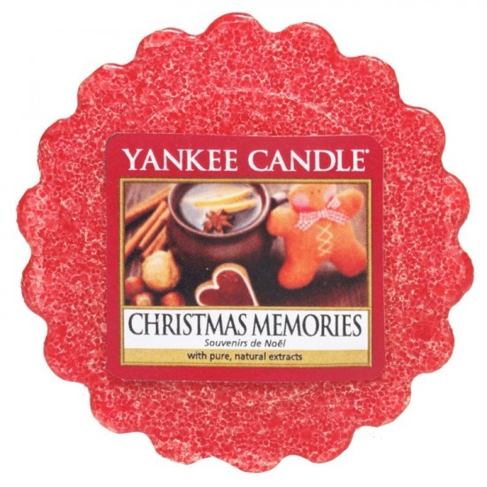 Wosk Christmas Memories Yankee Candle