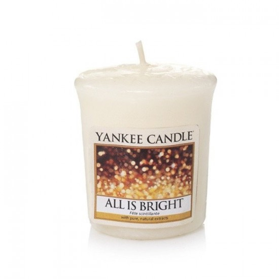 Sampler All is Bright Yankee Candle