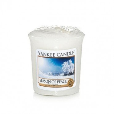 Sampler Season of Peace Yankee Candle