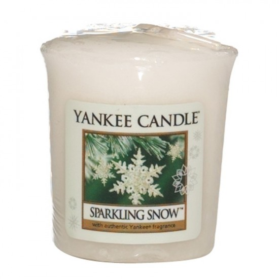 Sampler Sparkling Snow Yankee Candle