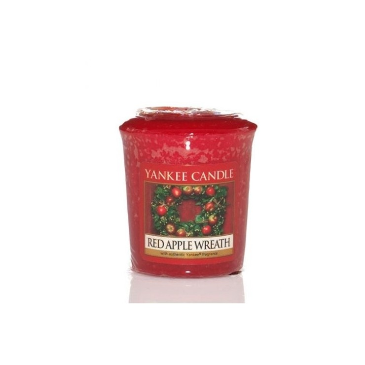 Sampler Red Apple Wreath Yankee Candle