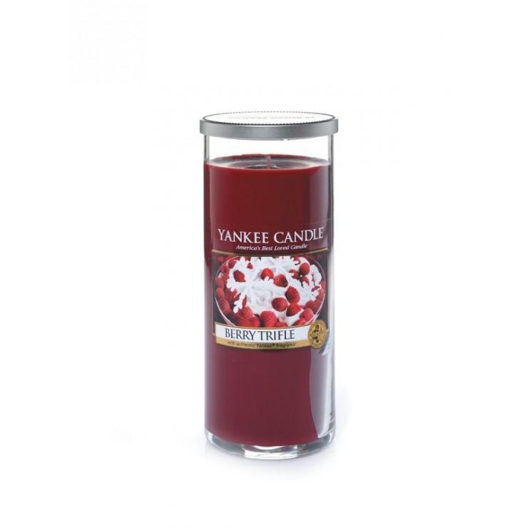 Duża pilar Yankee Candle Berry Trifle